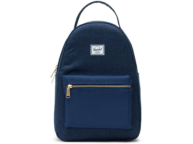 Herschel Nova Small Backpack 17L, medieval blue crosshatch/medieval blue